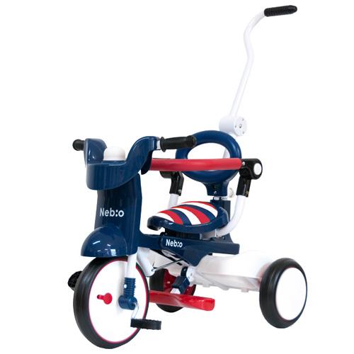e-cle イークル 誕生日 (ネビオ) 女の子 3歳 三輪車 Nebio 【送料無料】 三輪車 おしゃれ